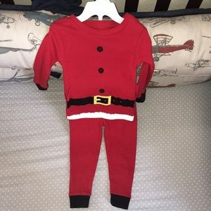 Toddler Santa Pajama set